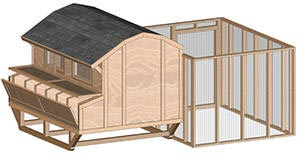 Chicken coop plans Make your own hen house